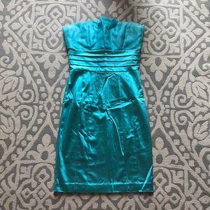 Mermaid blue dress